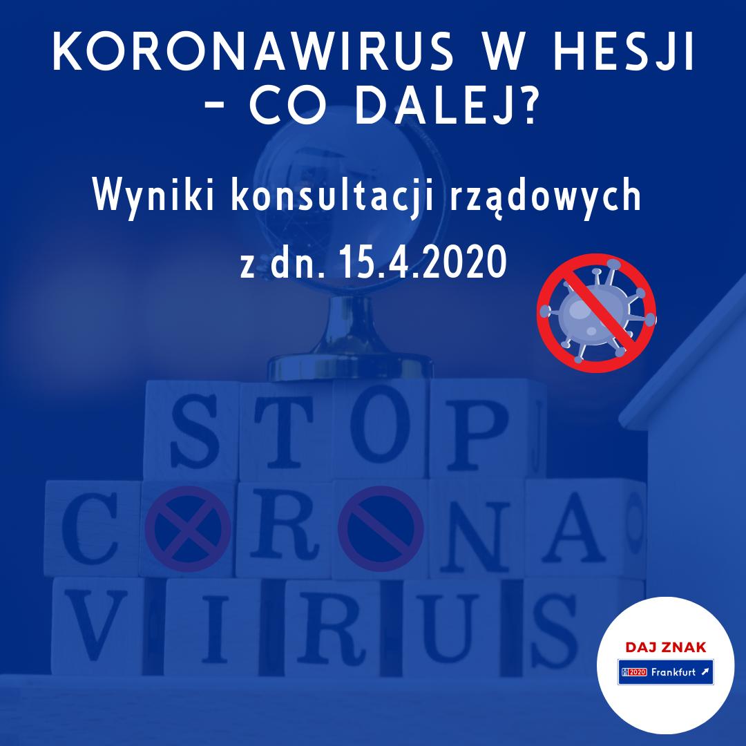 Hesja_decyzje rządu w sprawie rozwoju koronawirusa
