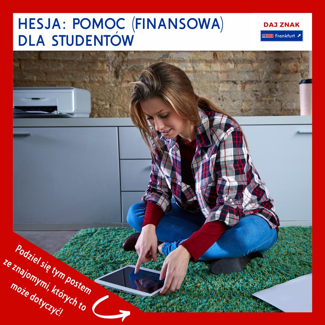 Hesja_pomoc finansowa dla studentów