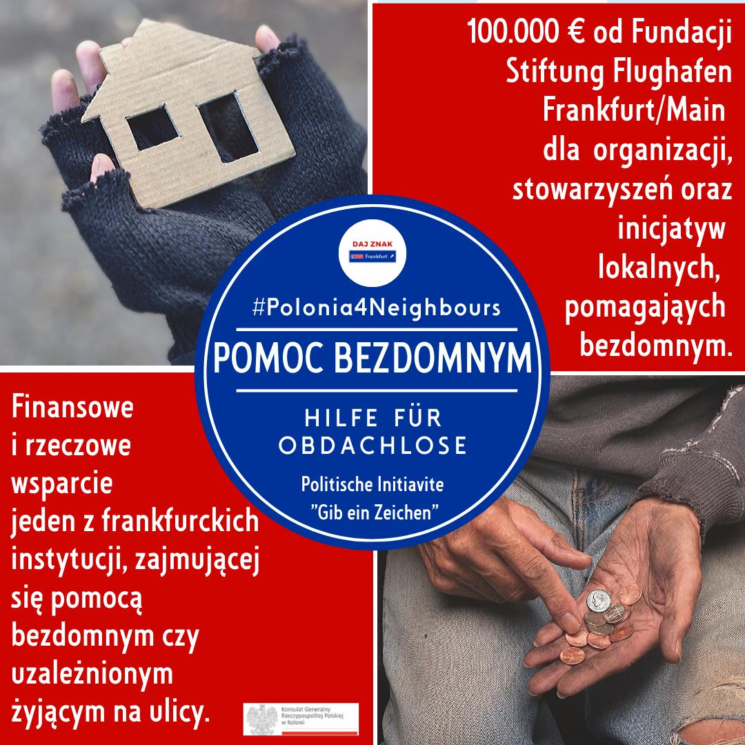 Polonia4Neighbours pomoc bezdomnym