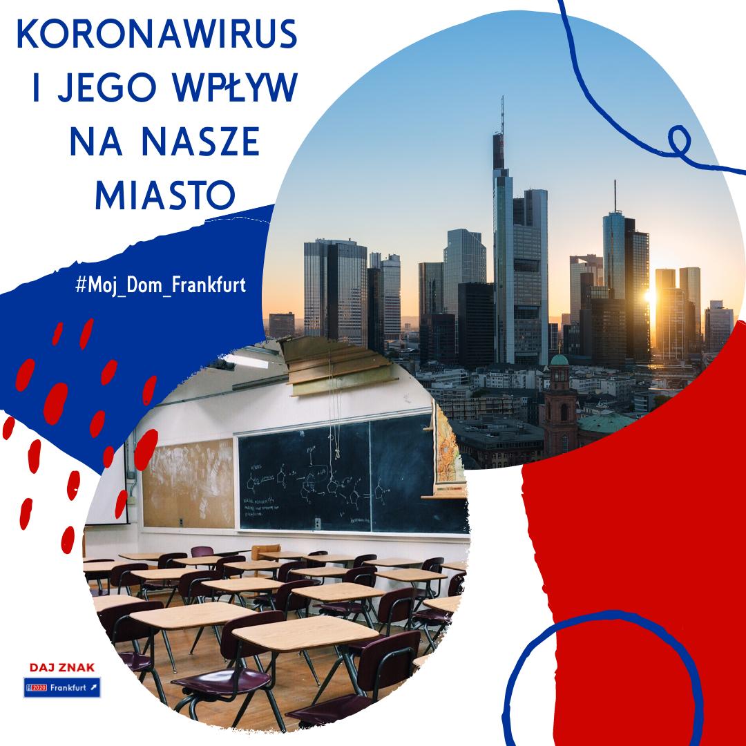 Koronawirus i jego wpływ na Frankfurt