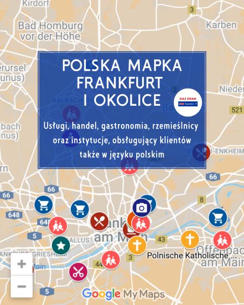 polskie adresy we Frankfurcie
