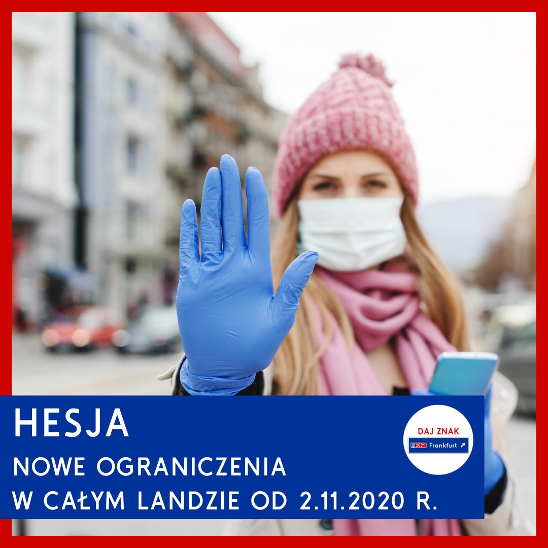 Nowe ograniczenia na terenie Hesji od 2.11