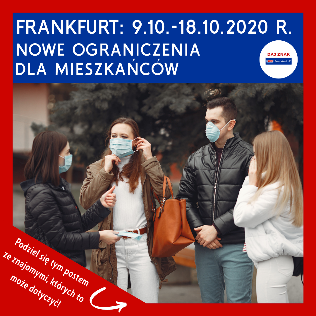 Ograniczenia na terenie miasta Frankfurt