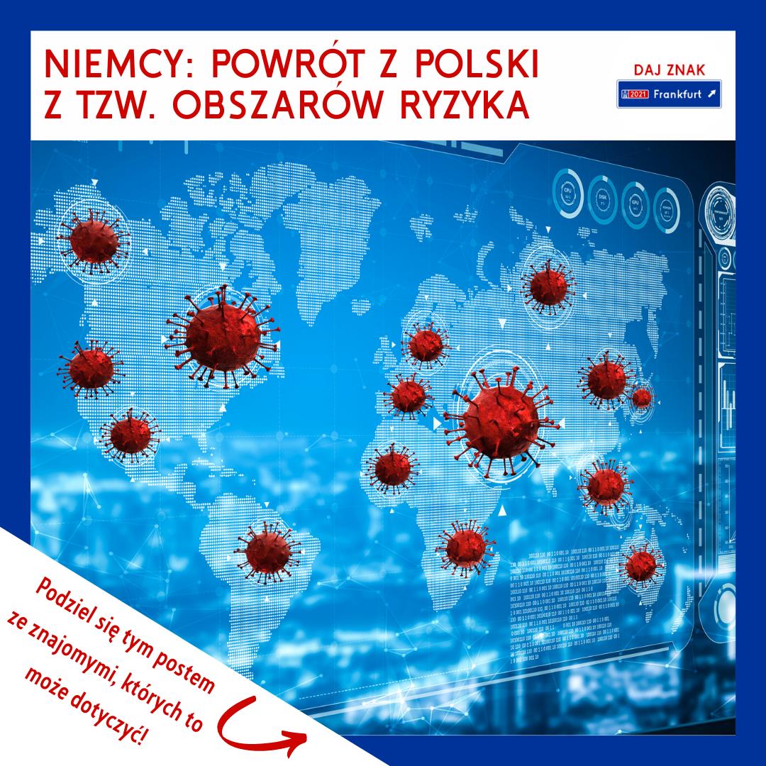 Ograniczenia w podróżowaniu z Polski do Niemiec