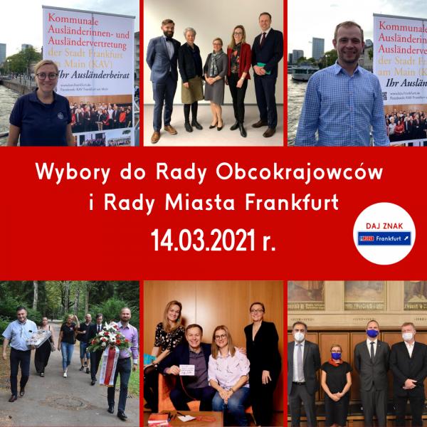 Wybory do Rady Obcokrajowców i Rady Miasta Frankfurt