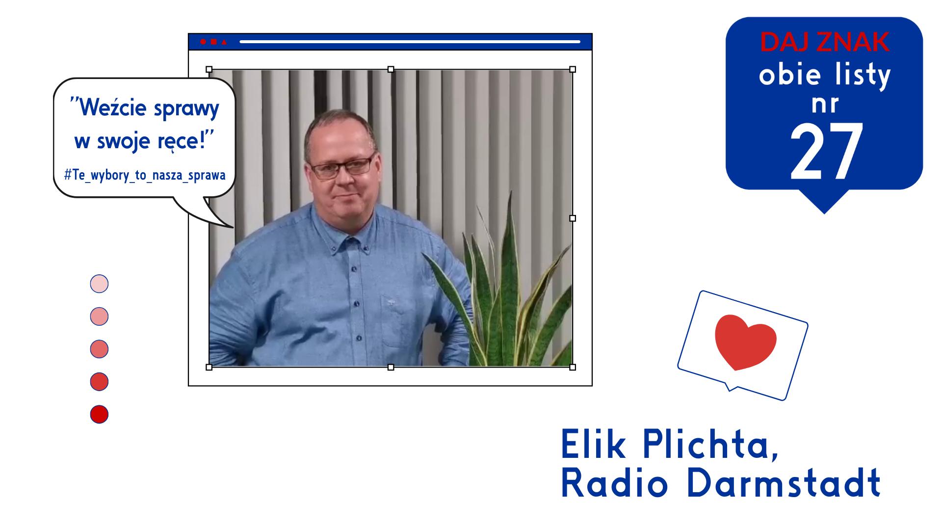 Elik Plichta poleca_DAJ Znak i Barbara Lange