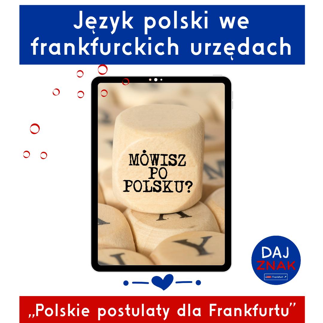 Jezyk polski we frankfurckich urzedow