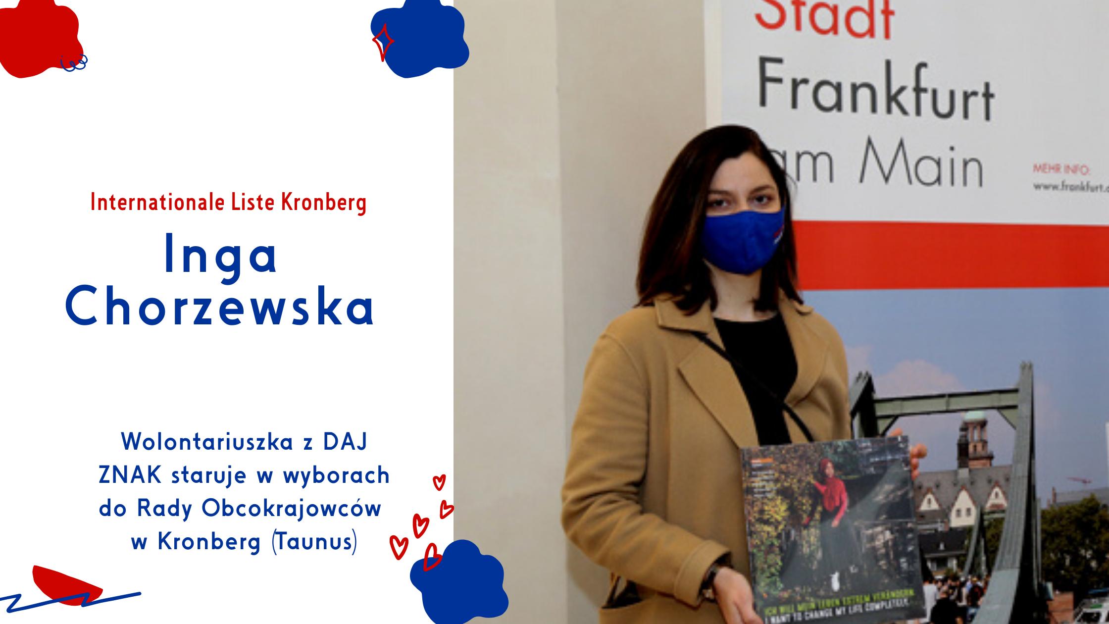Kronberg_Polska kandydatka do Rady Obcokrajowców