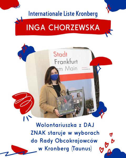 Polska kandydatka do Rady Obcokrajowcow w Kronberg