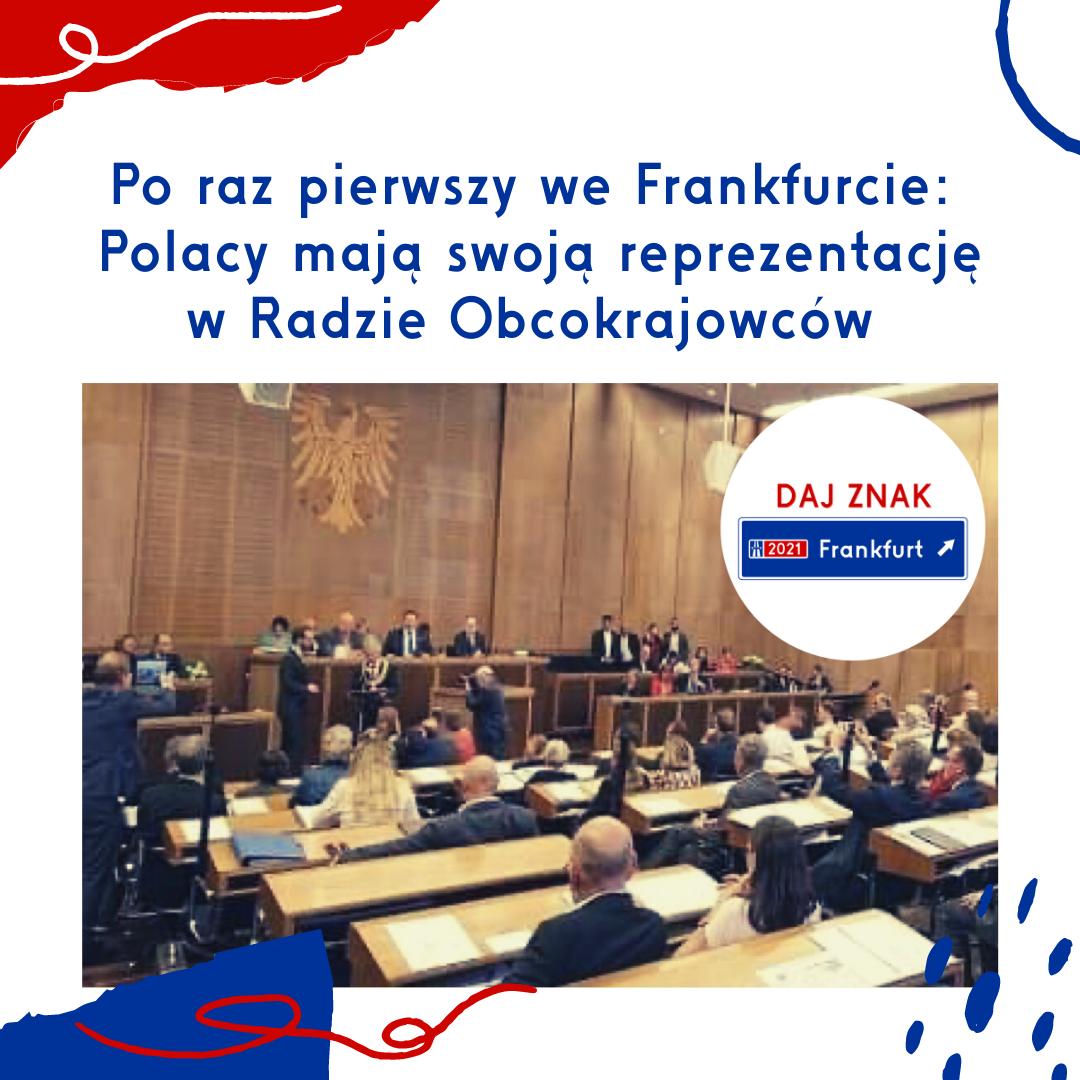 Polonia we frankfurckiej Radzie Obcokrajowców